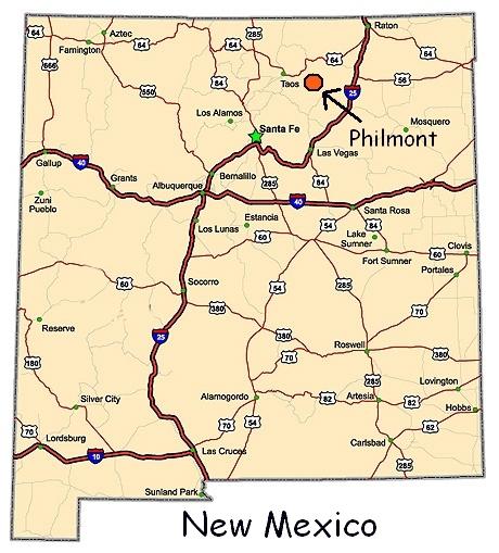 Philmont New Mexico Map.Philmont